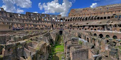 Inside Colosseum Print by Patrick Jacquet
