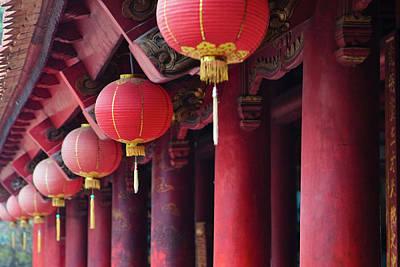 Hanoi Photograph - Inside Literature Temple, A Temple by Keren Su