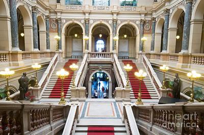 Museum Photograph - Inside Of National Museum In Prague by Michal Bednarek