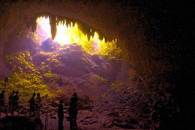 Inside The Camuy Cavernas Original by Sandra Pena de Ortiz