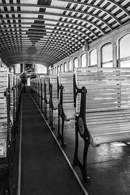 Inside The Mt Washington Train Print by Arkady Kunysz