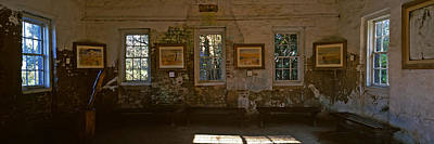 Slaves Photograph - Inside View Of Slave Quarter, Middleton by Panoramic Images