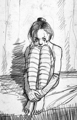 Insomnia Print by H James Hoff