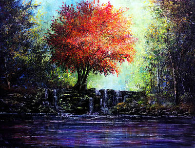 Reflection Painting - Inspiration by Ann Marie Bone