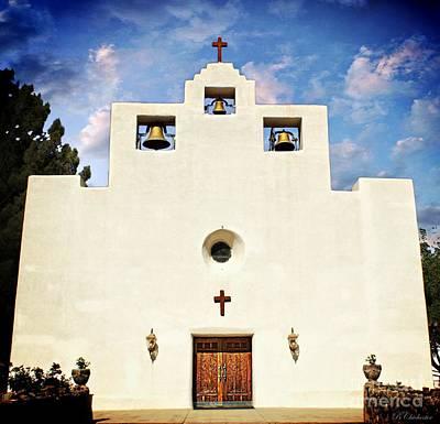 St. Francis De Paula Catholic Church Tularosa New Mexico Photograph - Inspiration  by Barbara Chichester