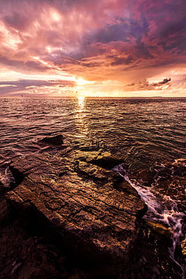 Oceanscape Photograph - Inspiration Key by Chad Dutson