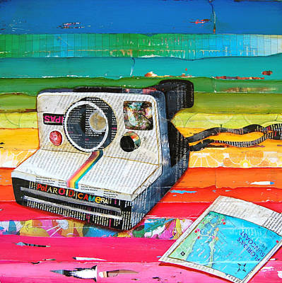 Instant Mixed Media - Instant Gratification by Danny Phillips