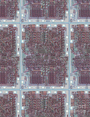 Intel 4004 - The Genesis Print by Steve Emery
