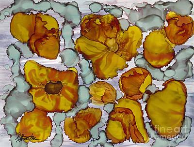Barton Painting - Intensity by Mary T Barton