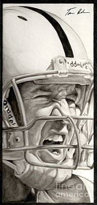 Indianapolis Painting - Intensity Peyton Manning by Tamir Barkan