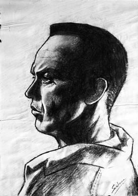 Painting - Michael Keaton by Salman Ravish