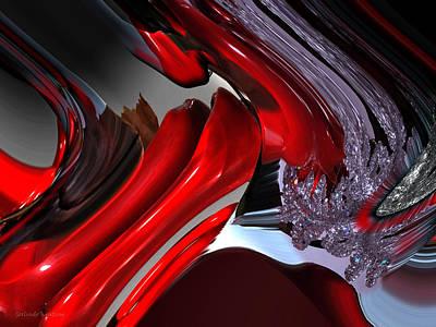 Interactions Print by Gerlinde Keating - Galleria GK Keating Associates Inc