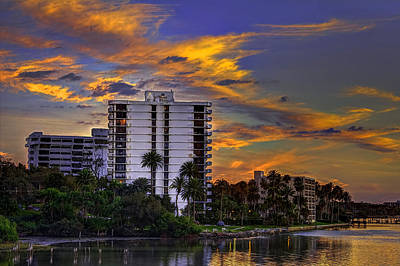 Waterside Photograph - Intercoastal Sky by Marvin Spates