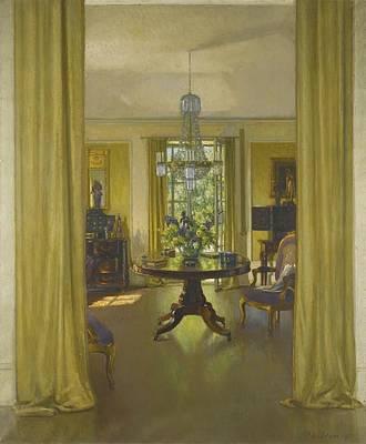 Patrick Williams Adam Painting - Interior June by Celestial Images