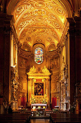 Dells Photograph - Interior Of Chiesa Santa Maria Dell by Brian Jannsen