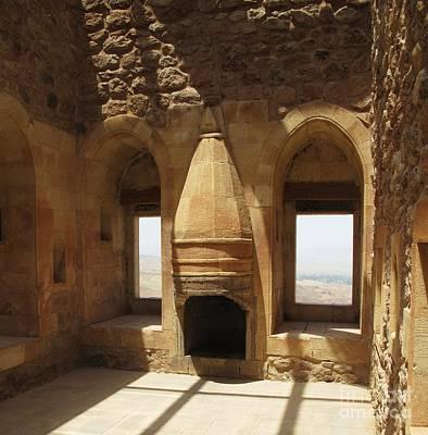 Interior Of Ishak Pasha Palace Print by Cimorene Photography