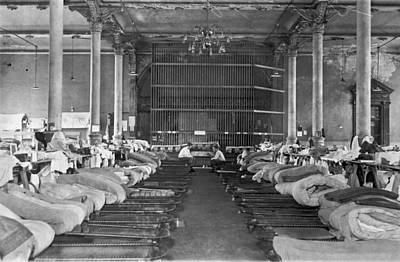 1910s Photograph - Interior Of Sing Sing Prison by Underwood Archives