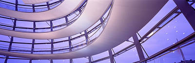 Curvilinear Photograph - Interior Reichstag Berlin Germany by Panoramic Images