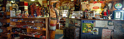 Large Group Of Objects Photograph - Interiors Of A Store, Route 66 by Panoramic Images