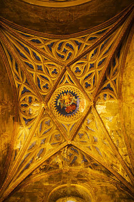 Interiors Of Cathedrale Saint-etienne Print by Panoramic Images