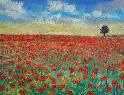 Soldier Painting - Interlude by Michael Creese