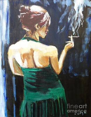 Emotive Painting - Intermission by Judy Kay