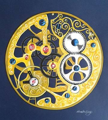 Internal Mechanisms Print by Nina Shilling
