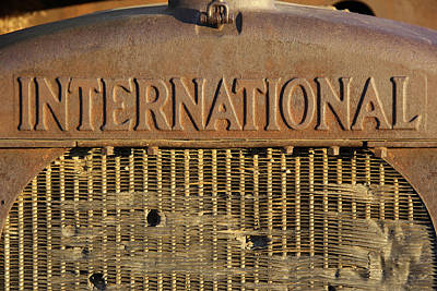 International Truck Emblem Print by Mike McGlothlen