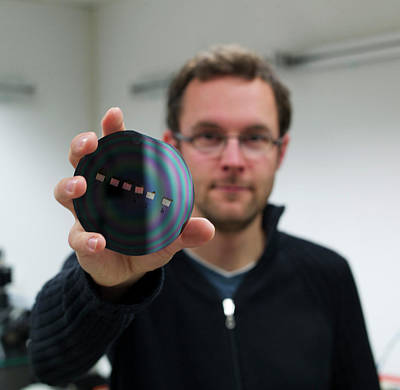 Circuit Photograph - Internet Transmission Speed by Ibm Research