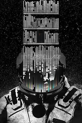Interstellar Print by Edgar Ascensao