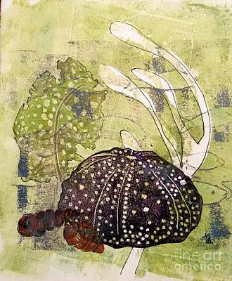Intertidal Print by Cynthia Lagoudakis