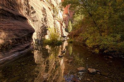 West Fork Photograph - Into The Canyon  by Saija  Lehtonen