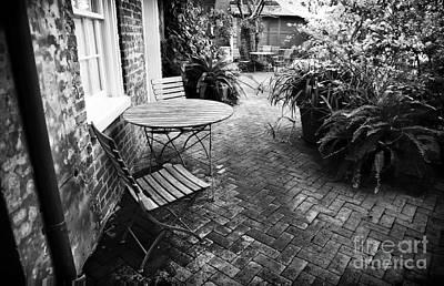 Into The Courtyard Print by John Rizzuto