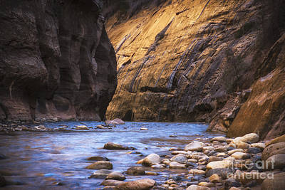 Zion National Park Photograph - Into The Narrows by Jennifer Magallon