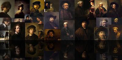 Black Painting - Into The Night by David Bridburg