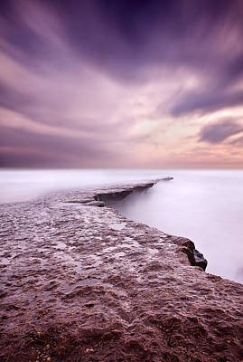 Into The Ocean Print by Jorge Maia