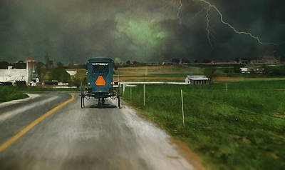 Into The Storm II Print by Kathy Jennings