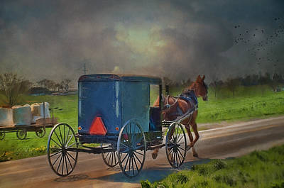 Into The Storm Print by Kathy Jennings