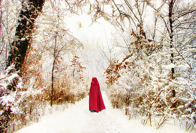 December Photograph - Into The Woods by Jessica Jenney