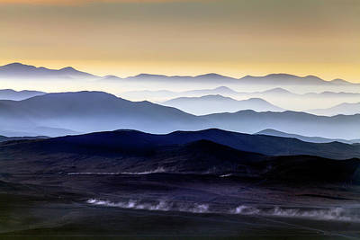 Inversion Photograph - Inversion Layers In The Atacama Desert by Babak Tafreshi
