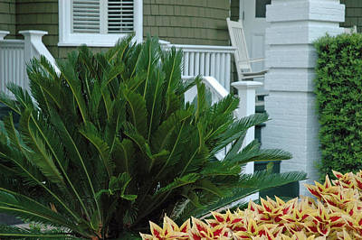 Inviting Front Porch Print by Bruce Gourley