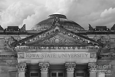 Iowa State University Beardshear Hall Print by University Icons