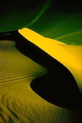 Abstract Beach Landscape Digital Art - Ir Dune 2 by Bill Caldwell -        ABeautifulSky Photography