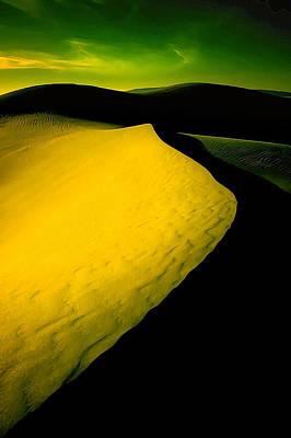 Manipulation Photograph - Ir Dune 3 by Bill Caldwell -        ABeautifulSky Photography