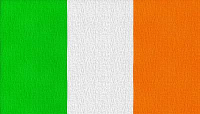 Independence Mixed Media - Ireland Flag by Dan Sproul