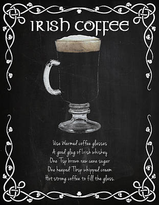 Coffee Photograph - Irish Coffee by Mark Rogan