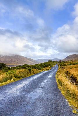 Irish Countryside Of Connemara Print by Mark Tisdale