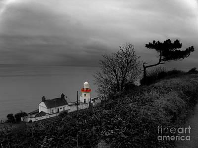 Irish Lighthouse Print by Frances Hodgkins
