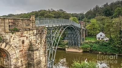 Iron Bridge Print by Mickey At Rawshutterbug