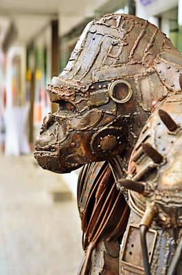Orangutan Mixed Media - Iron Gorilla by Gynt